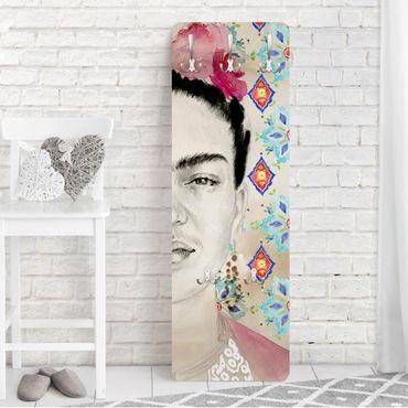 Appendiabiti - Frida Con Fiori Rosa I
