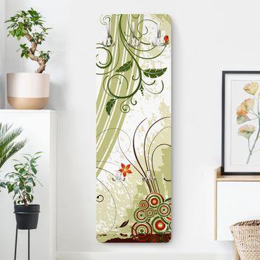 Appendiabiti - Primavera - Stile provenzale verde