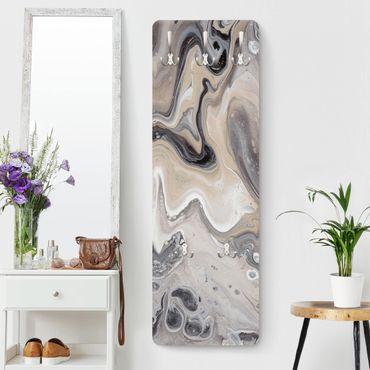 Appendiabiti moderno - Roccia fusa II
