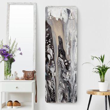 Appendiabiti moderno - Roccia fusa III