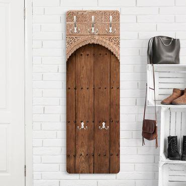 Appendiabiti - Porta in legno dal Alhambra Palace