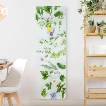 Appendiabiti - Erbe e fiori