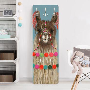 Appendiabiti bambini - Lama decorato I