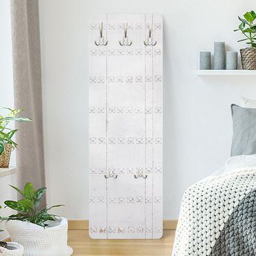 Appendiabiti - Porte in legno bianco Mediterraneo