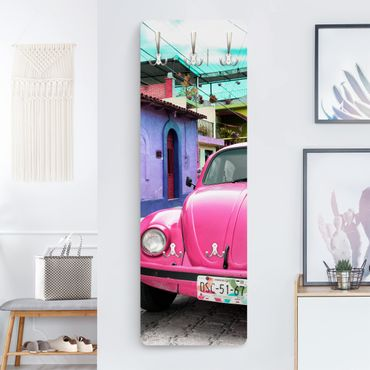 Appendiabiti - Pink VW Beetle