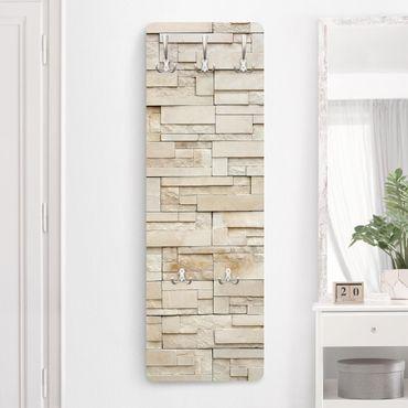 Appendiabiti effetto pietra - Muro provenzale