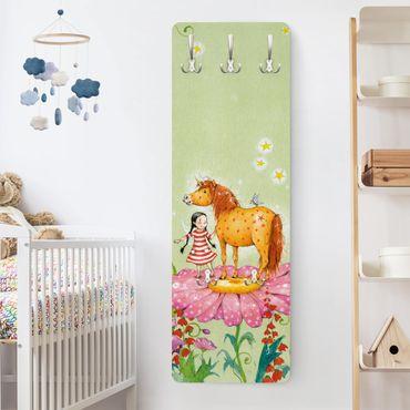 Appendiabiti bambini - Pony su fiore