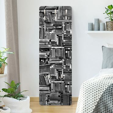 Appendiabiti - Shabby Bookcase White Black