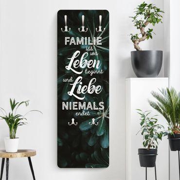 Appendiabiti - Tropical - La famiglia è