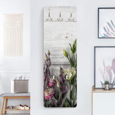 Appendiabiti - Tulip Pink Shabby wood optic