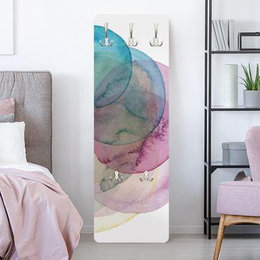 Appendiabiti moderno - Big Bang - Rosa
