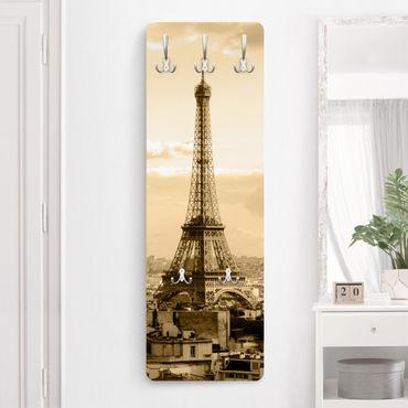 Appendiabiti vintage - I Love Paris - Beige