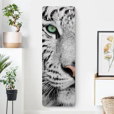 Appendiabiti - white Tiger
