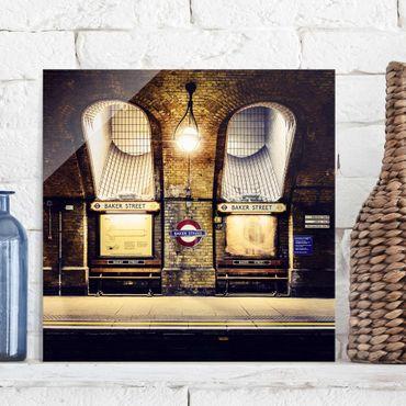 Quadro in vetro - Baker Street - Quadrato 1:1