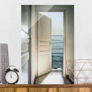 Quadro in vetro - Behind the Door - Verticale 2:3