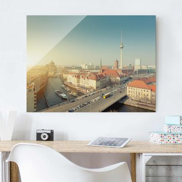 Quadro su vetro - Berlin morning - Orizzontale 4:3
