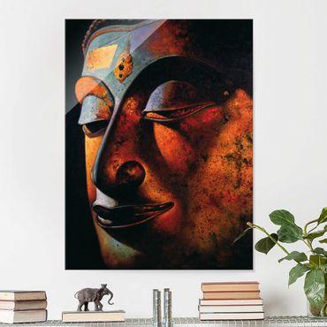 Quadro in vetro - Bombay Buddha - Verticale 3:4