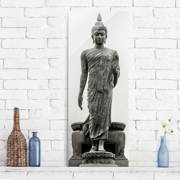 Quadro in vetro - Buddha Statue - Pannello