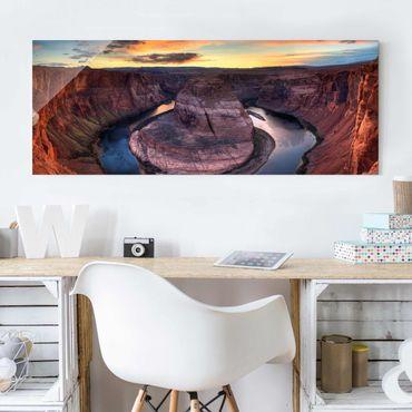 Quadro in vetro - Colorado River Glen Canyon - Panoramico