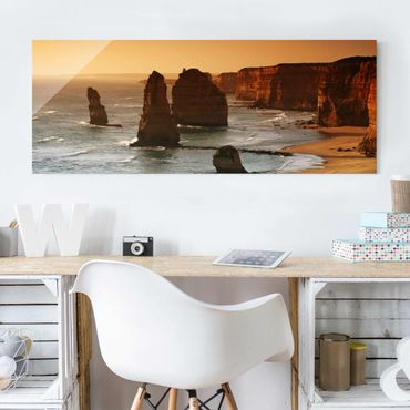 Quadro in vetro - The Twelve Apostles Of Australia - Panoramico