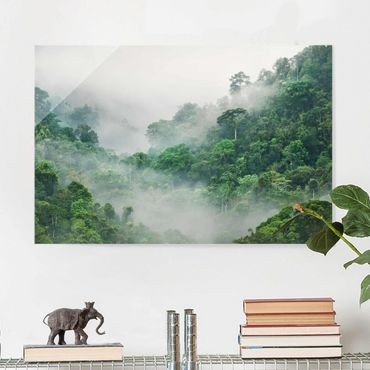 Quadro in vetro - Jungle In The Fog - Orizzontale 3:2