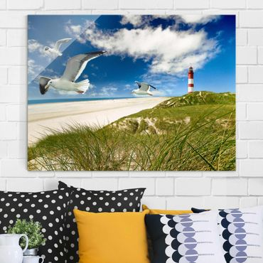Quadro su vetro - Dune Breeze - Orizzontale 4:3