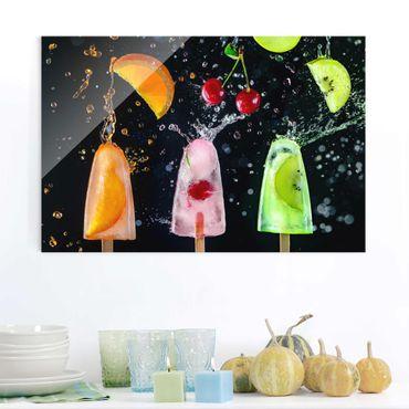 Quadro in vetro - Popsicle - Orizzontale 3:2
