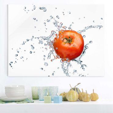 Quadro su vetro - Fresh tomato - Orizzontale 4:3