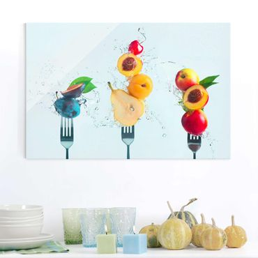 Quadro in vetro - Fruit Salad - Orizzontale 3:2