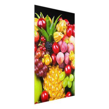 Quadro in vetro - Fruit bokeh - Verticale 2:3