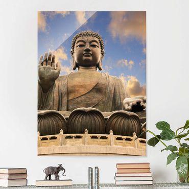 Quadro in vetro - Big Buddha - Verticale 3:4