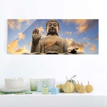 Quadro in vetro - Big Buddha - Panoramico