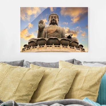 Quadro su vetro - Big Buddha - Orizzontale 3:2