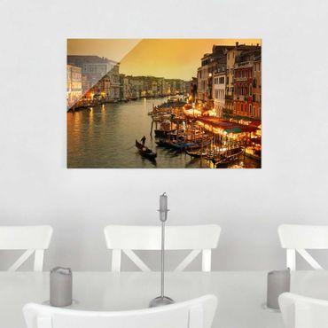 Quadro su vetro - Grand Canal of Venice - Orizzontale 3:2
