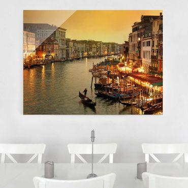 Quadro su vetro - Grand Canal of Venice - Orizzontale 4:3