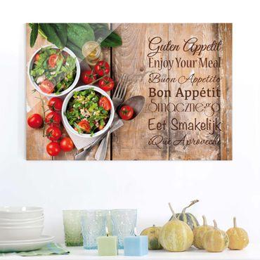 Quadro in vetro - Good Appetite - Orizzontale 3:2