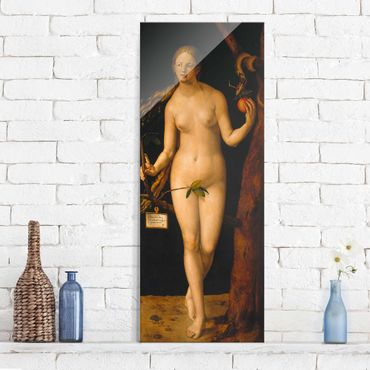 Quadro su vetro - Albrecht Dürer - Eva - Pannello