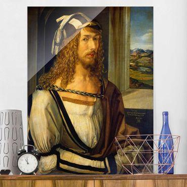 Quadro su vetro - Albrecht Dürer - Self-portrait at 26 - Verticale 3:4