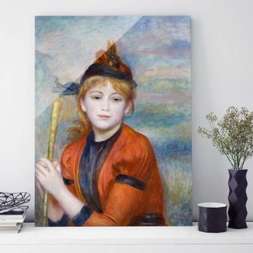 Quadro su vetro - Auguste Renoir - L'Excursionniste - Impressionismo - Verticale 3:4