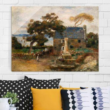 Quadro in vetro - Auguste Renoir - Treboul, nei pressi di Douardenez, Bretagna - Impressionismo - Orizzontale 4:3