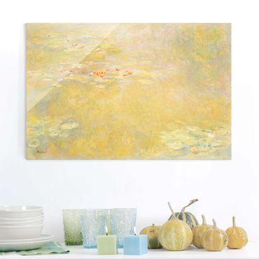 Quadro su vetro - Claude Monet - Il Laghetto delle Ninfee - Impressionismo - Orizzontale 3:2