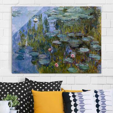 Quadro su vetro - Claude Monet - Ninfee (Nympheas) - Impressionismo - Orizzontale 4:3