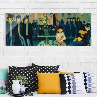 Quadro in vetro - Emile Bernard - The Tabarin or Cabaret in Paris - Panoramico