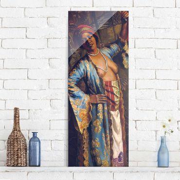 Quadro in vetro - Emile Bernard - The exotic Dancer - Pannello