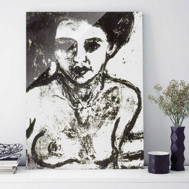 Quadro su vetro - Ernst Ludwig Kirchner - Artist's Child - Verticale 3:4
