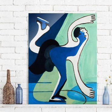 Quadro in vetro - Ernst Ludwig Kirchner - The Ice Skater - Verticale 3:4