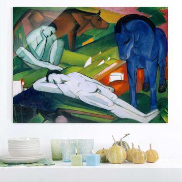 Quadro su vetro - Franz Marc - I Pastori - Espressionismo - Orizzontale 4:3