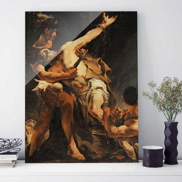 Quadro in vetro - Giovanni Battista Tiepolo - The Martyrdom of St. Bartholomew - Verticale 3:4