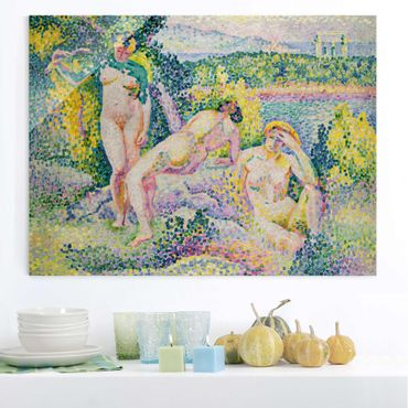 Quadro in vetro - Henri Edmond Cross - Nymphes - Orizzontale 4:3