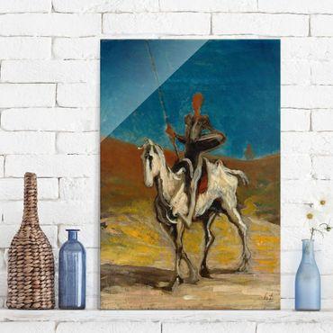 Quadro in vetro - Honoré Daumier - Don Quixote - Verticale 2:3